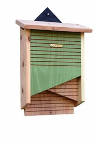 casas nido de madera para murcielagos